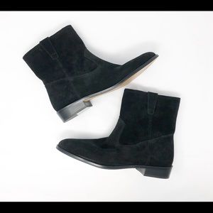 Rebecca Minkoff Chasidy Booties Black Suede